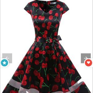 NEW 👗 Gardenweed Black Cherry 🍒 Dress